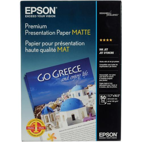 Epson Matte Paper Heavyweight - 11.7x16.5