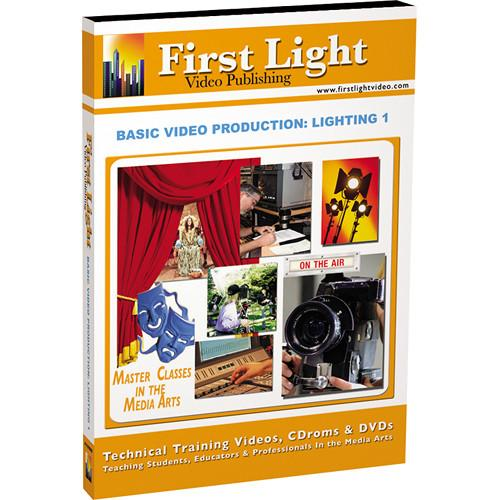 First Light Video DVD: Basics in Lighting: Part I F1131DVD