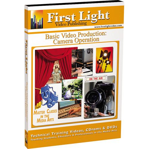 First Light Video  DVD: Camera Operation F1128DVD
