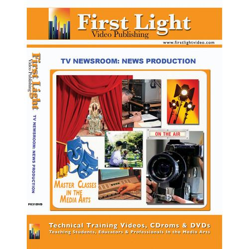 First Light Video DVD: TV Newsroom: Production F631DVD