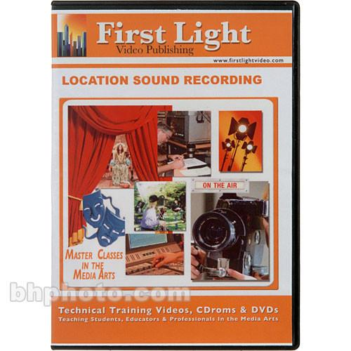 First Light Video Location Sound Recording F708DVD