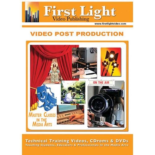 First Light Video Video Post Production Training DVD F714DVD