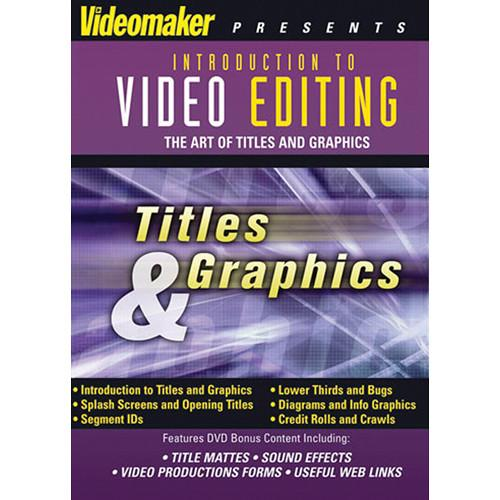 First Light Video Videomaker: Video Editing: Titles F817DVD