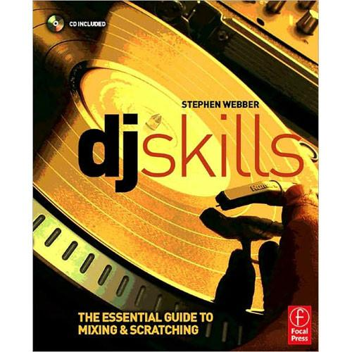 Focal Press Book/CD: DJ Skills by Stephen Webber 9780240520698