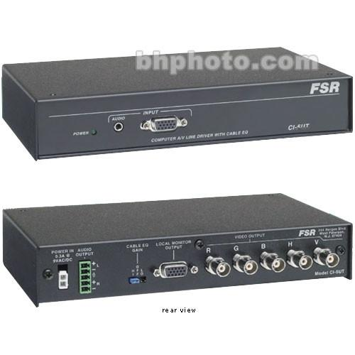 FSR CI-5UT Computer Video and Stereo Audio Interface CI-5UT