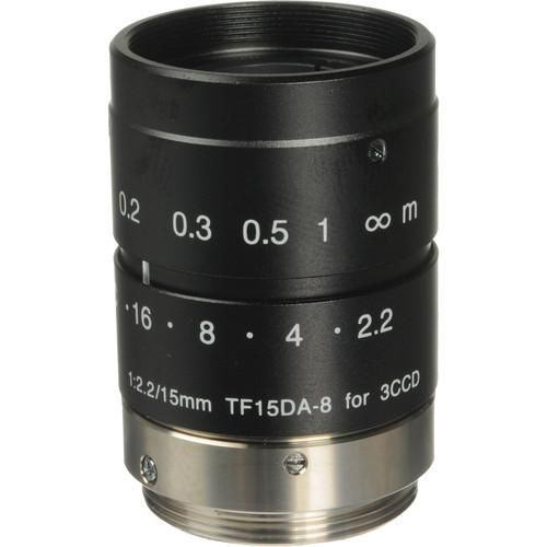 Fujinon  TF15DA-8 15mm C-Mount Lens TF15DA-8