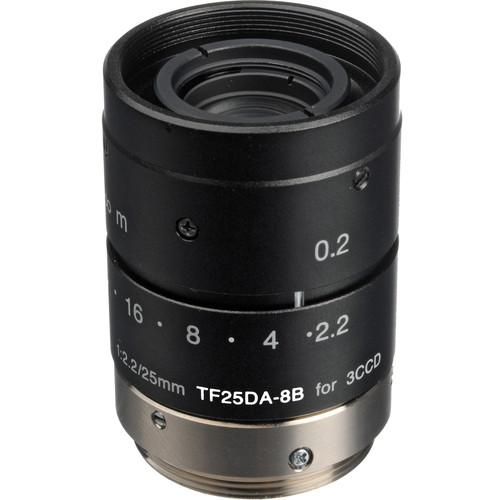 Fujinon TF25DA-8B 25mm f/2.2 C-Mount Lens TF25DA-8B