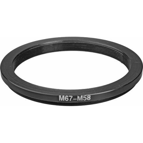 General Brand 67mm-58mm Step-Down Ring (Lens to Filter) 67-58