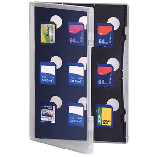 Gepe  SD Card Safe Store (Clear) 3011