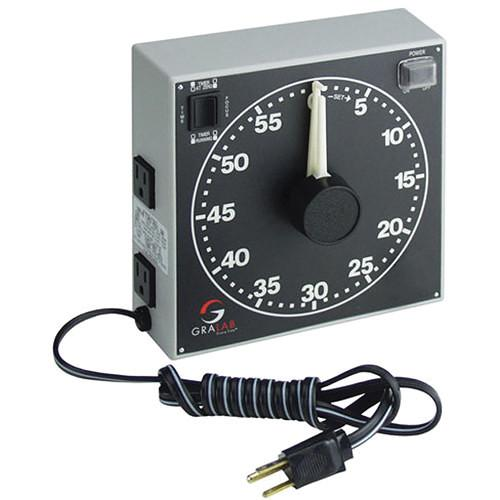 GraLab Model 300 Electro-Mechanical Darkroom Timer GR300H