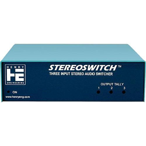 Henry Engineering Stereo Switch - Stereo Source Switcher SS