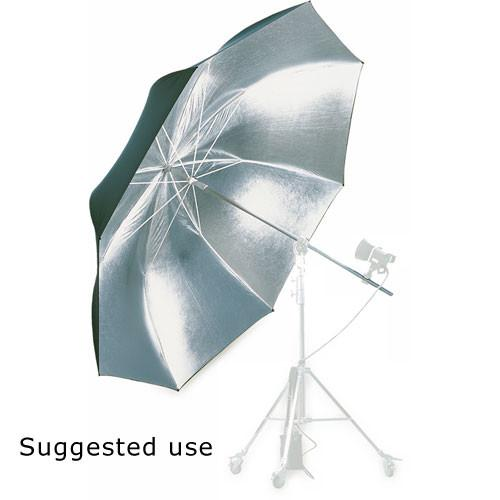 Hensel Jumbo Umbrella, Silver with Black Backing - 4107923