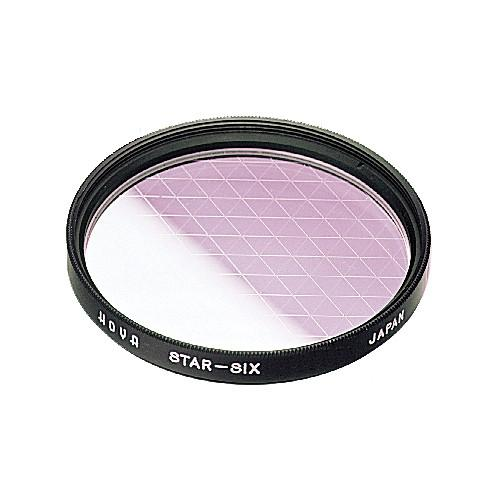 Hoya 58mm (6 Point) Star Effect Glass Filter S-58STAR6-GB