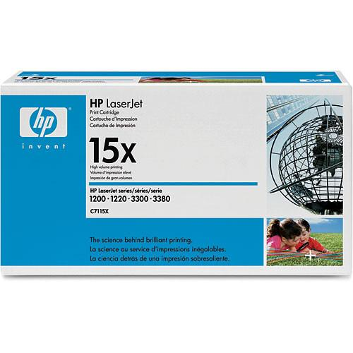HP  15X Toner Cartridge (Black) C7115X