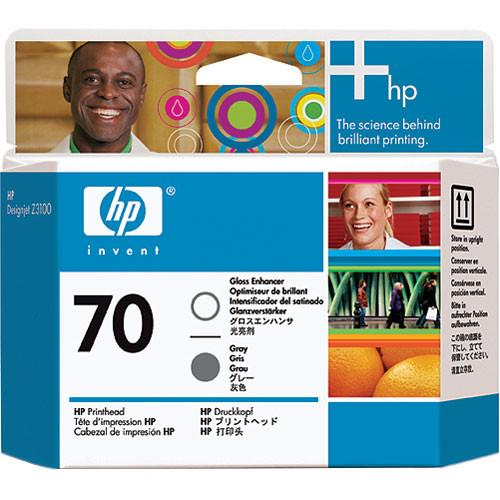 HP  70 Gloss Enhancer & Gray Printhead C9410A