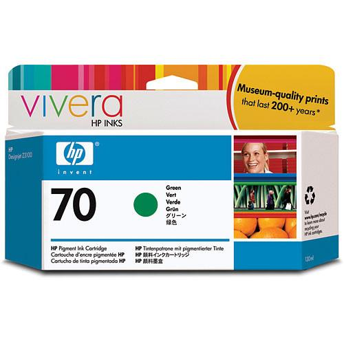 HP  70 Green Ink Cartridge (130 ml) C9457A