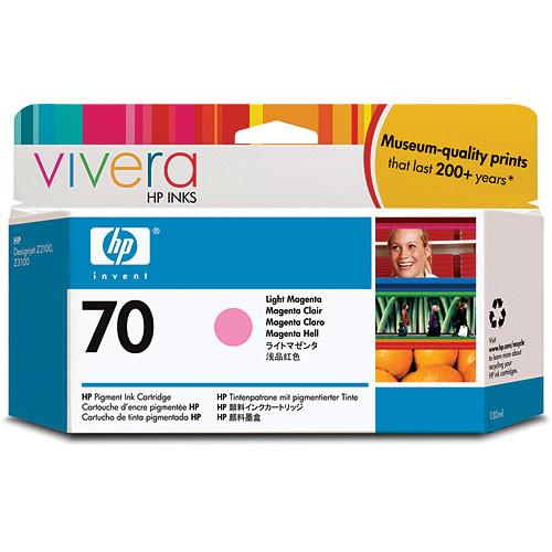 HP 70 Light Magenta Ink Cartridge (130 ml) C9455A