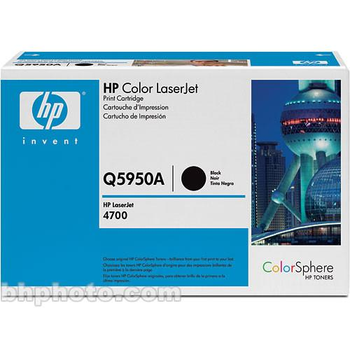 HP Color LaserJet Q5950A Black Print Cartridge Q5950A