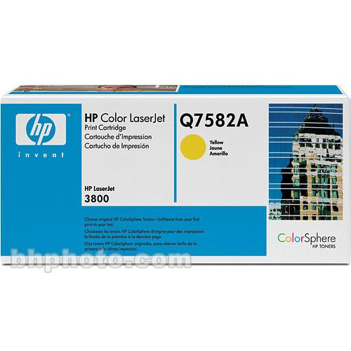 HP Color LaserJet Q7582A Yellow Print Cartridge Q7582A
