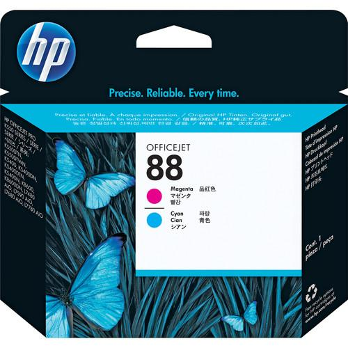 HP  HP 88 Printhead (Magenta and Cyan) C9382A