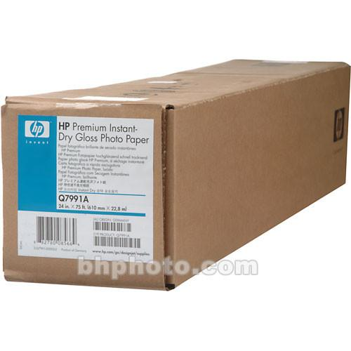 HP Premium Instant-dry Gloss Photo Paper - 24