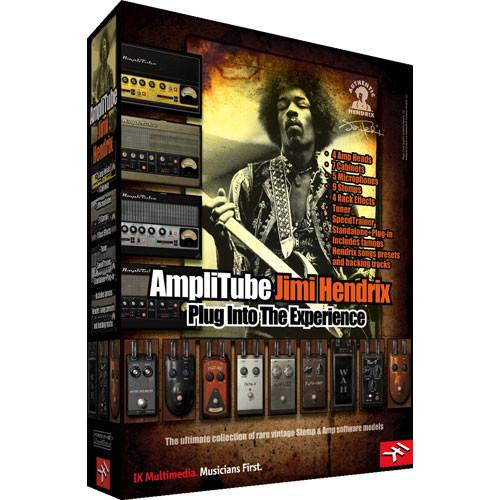 IK Multimedia AmpliTube Jimi Hendrix Software AT-200-JHX-IN