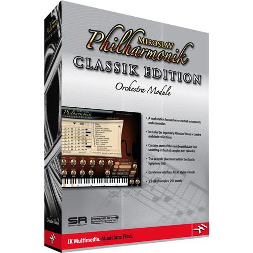 IK Multimedia Miroslav Philharmonik Classik MP-PLUG-CLS-IN
