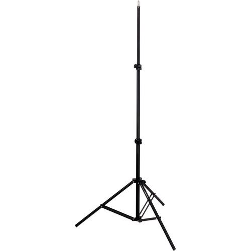 Impact  Light Stand, Black (6')