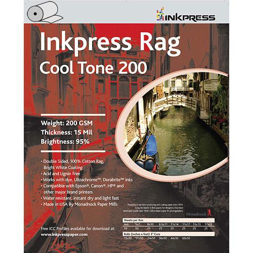 Inkpress Media Picture Rag Cool Tone Paper (200 gsm) PRCT2006040