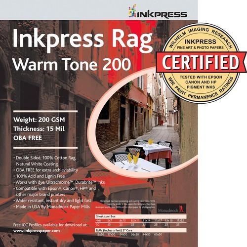Inkpress Media Picture Rag Warm Tone Paper PRWT2003650