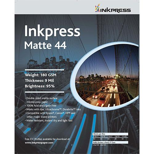 Inkpress Media Print Plus Matte 44 Paper (2-sided) - PP48172250