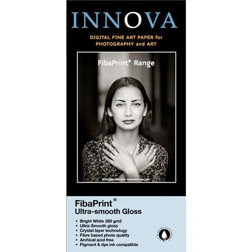 Innova FibaPrint Ultra-Smooth Glossy Inkjet Photo Paper 33016