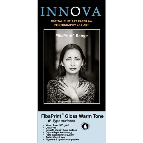 Innova FibaPrint Warm Glossy Inkjet Photo Paper (300 gsm) 31016