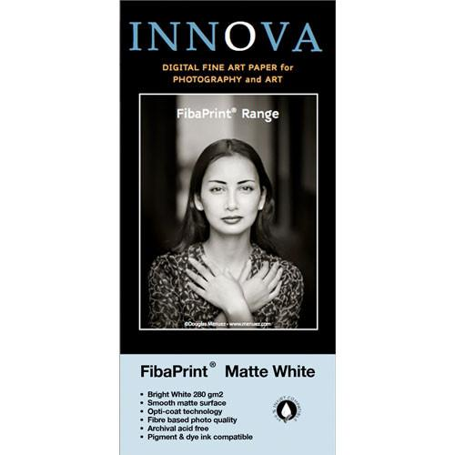Innova FibaPrint White Matte Inkjet Photo Paper (280gsm) 22006