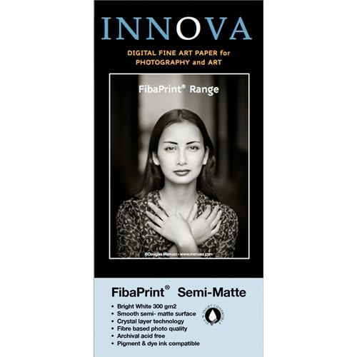 Innova FibaPrint White Semi-Matte Inkjet Photo Paper 32002