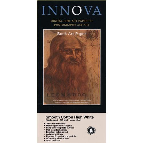 Innova  Smooth Cotton Natural White Paper 27003