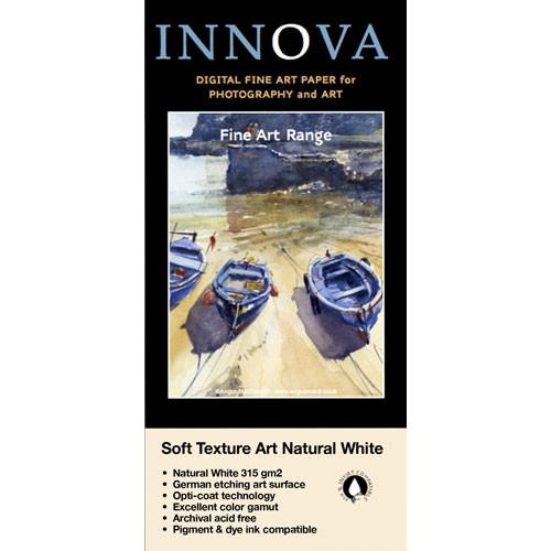 Innova Soft Textured Natural White 315 gsm Archival Inkjet 21017