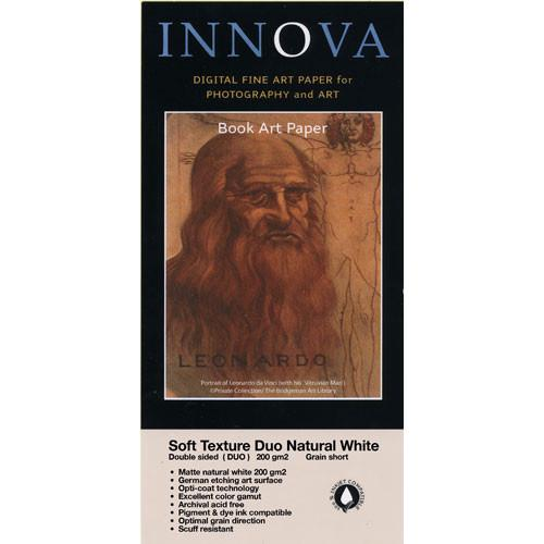 Innova Soft Textured Natural White Paper (200gsm, 2-Sided) 28007