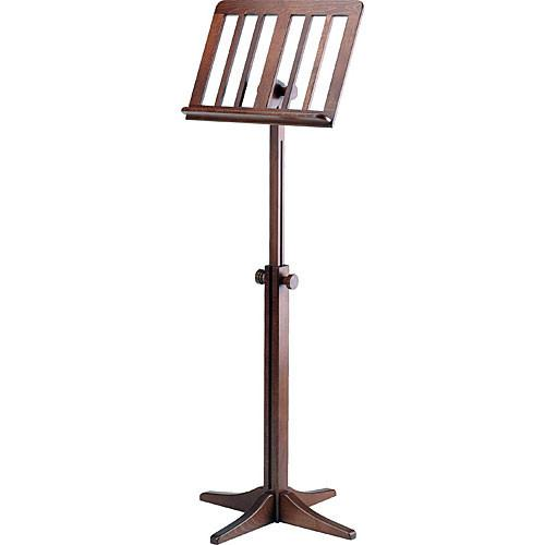 K&M  116/1 Wood Music Stand (Walnut) 11611-000-00
