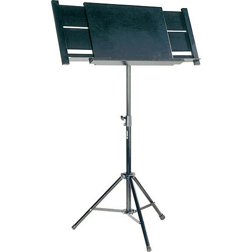 K&M 12342 Conductor Music Stand (Black) 12342-000-55