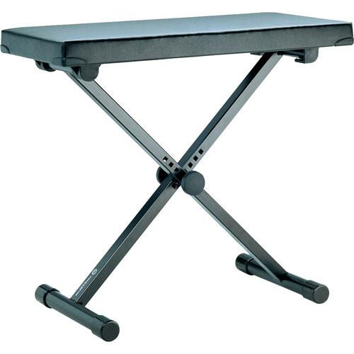 K&M 14075 Keyboard Bench (Black) (Extra Wide) 14075-000-55