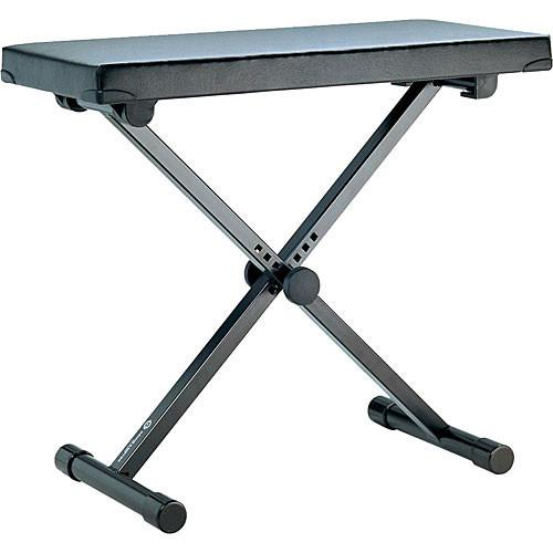 K&M 14076 Keyboard Bench (Black) (Extra Wide) 14076-000-55