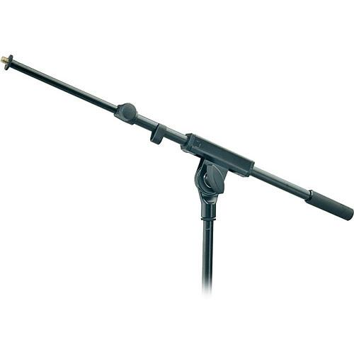 K&M 21140B Microphone Boom Arm (Black) 21140-500-55