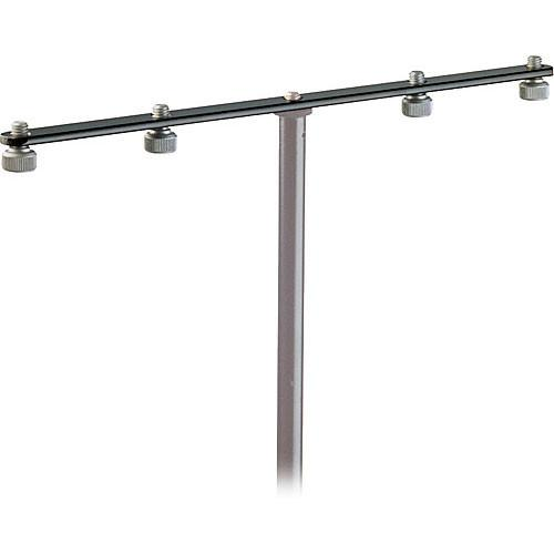 K&M 236 - Four Microphone Mounting Bar 23600-500-55, K&M, 236, Four, Microphone, Mounting, Bar, 23600-500-55,