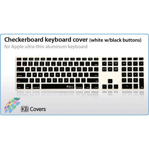 KB Covers Checkerboard Keyboard Cover for Apple CB-AK-WB