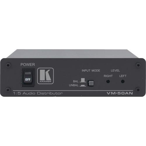 Kramer VM-50AN 1:5 Audio Distribution Amplifier VM-50AN