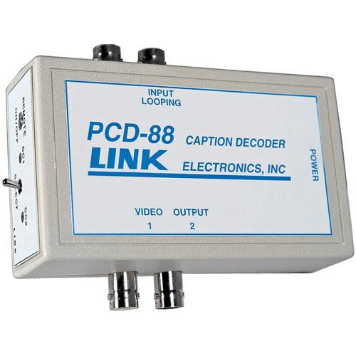 Link Electronics PCD-88 Portable Closed Caption Decoder PCD-88