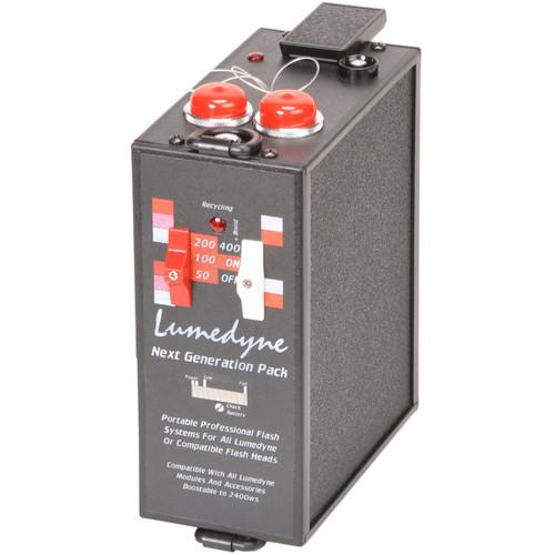Lumedyne 400 Watt Second Next Generation Power Pack - Xtra P4NX