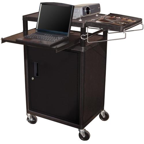 Luxor LT34PCB - Three Shelf Presentation Cart LT34PC-B