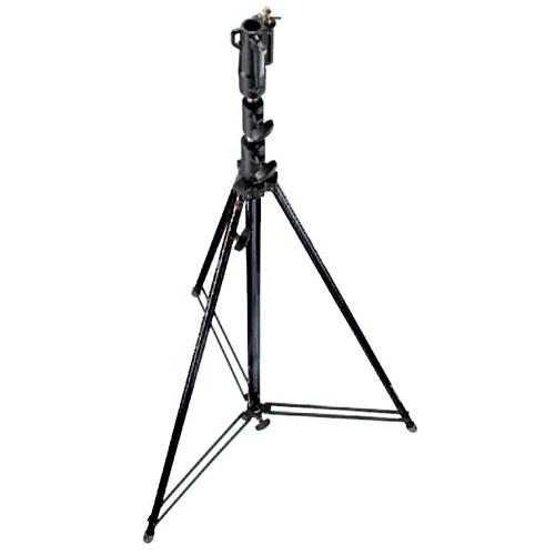 Manfrotto 111BSU Tall Steel Cine Stand with Leveling Leg, 111BSU